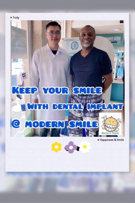 รีวิว ทำฟัน จัดฟัน Modern Smile ทำฟัน จัดฟัน ศรีราชา พัทยา ชาวต่างชาติ ฟอกสีฟัน