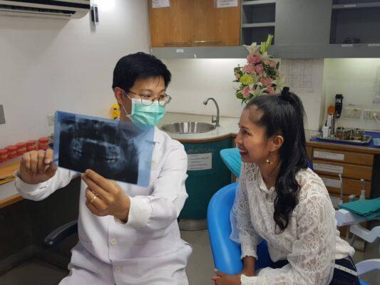 Review รีวิว ผ่าฟันคุด Modern Smile ทำฟัน จัดฟัน ศรีราชา พัทยา
